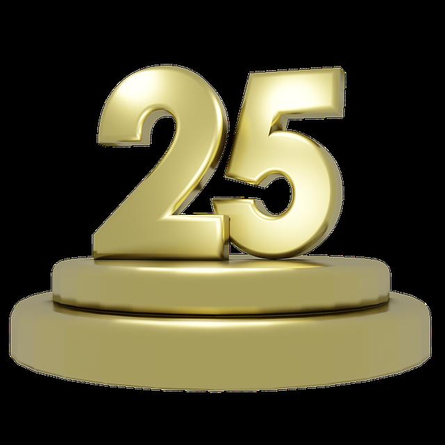 25 jaar Kingdakbedekkingen